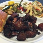 Kansas City Style burnt ends melt in your mouth, delicious!
